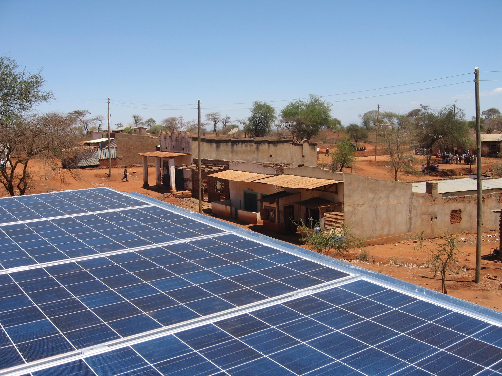 Kitonyoni solar power plant